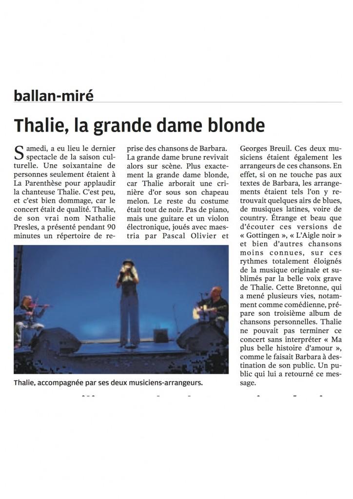 Presse Ballan- Miré